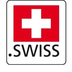 logo officiel lancement tld .swiss