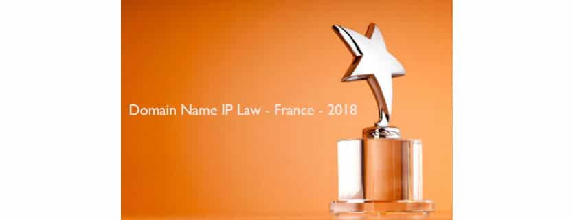 SafeBrands best in domain name IP law 2018